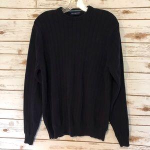 John Ashford Navy Blue Sweater Size M